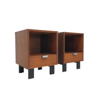 Mid Century George Nelson for Herman Miller Side Tables - a Pair