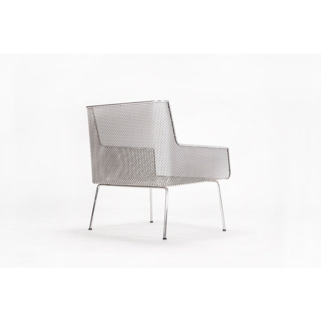 Chrome Davis Allen Lounge Chair For Sale - Image 7 of 9
