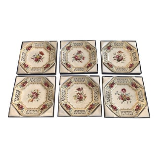 Spode Limited Edition 200th Anniversary Decorative Plates - Set of 6 For Sale
