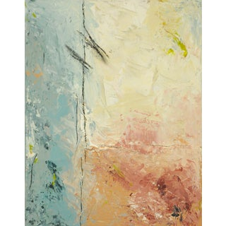 """""""What Boundaries?"""" Contemporary Abstract Mixed-Media Painting For Sale"""