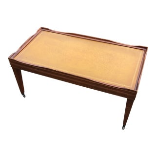 English Small Wooden Coffee Table** For Sale