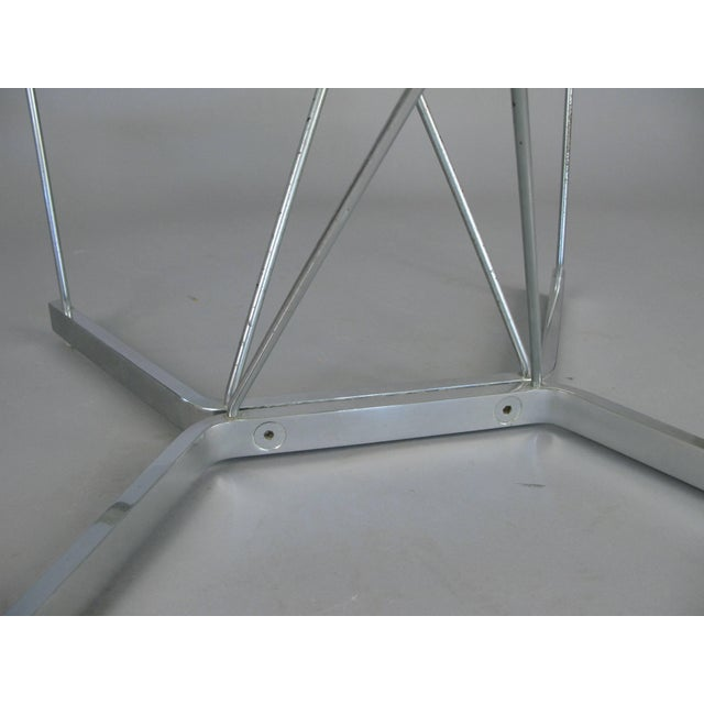 Vintage 1960s George Nelson for Herman Miller Chrome and Glass Catenary Table For Sale In New York - Image 6 of 9