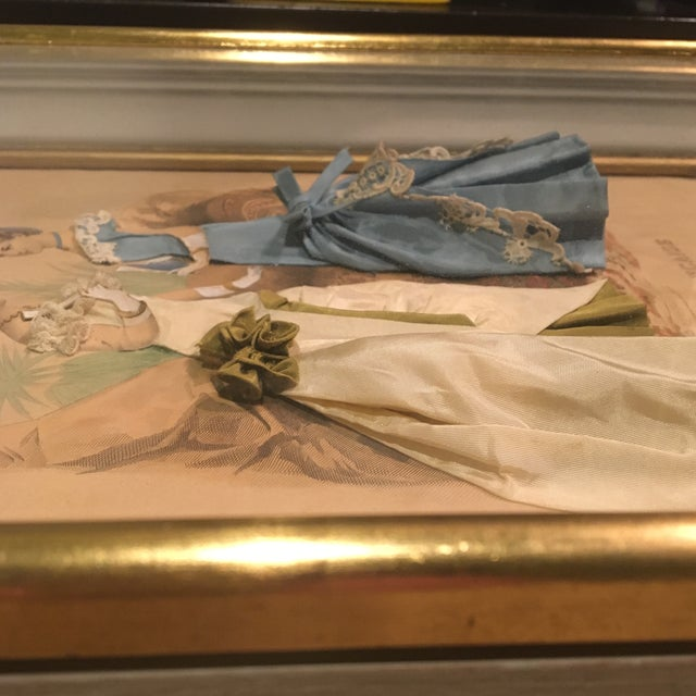 Mid 18th Century 19th Century French Fashion Diorama/La Mode Francaise Illustration For Sale - Image 5 of 10