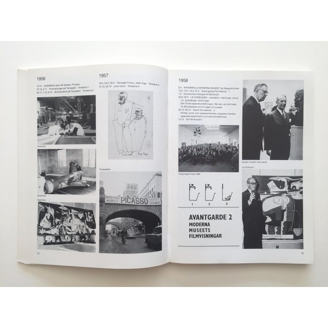 """This """" Moderna Museet Stockholm 1958 - 1983 """" rare vintage 1983 first edition 25th Anniversay collector's softcover Modern..."""