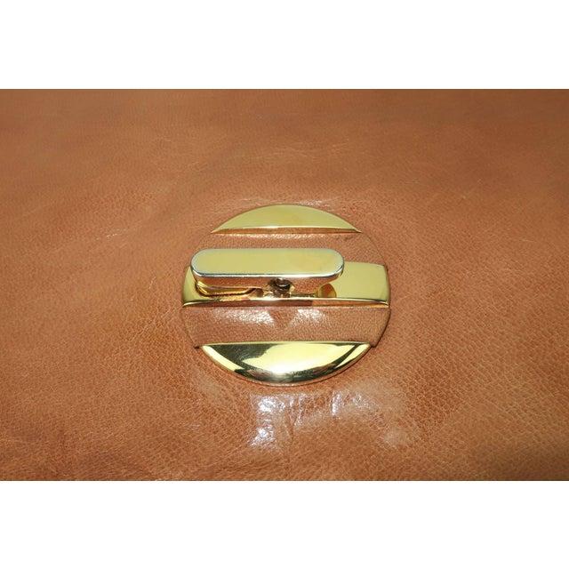 1970's Bottega Veneta Large Envelope Leather Clutch Handbag For Sale In Atlanta - Image 6 of 12
