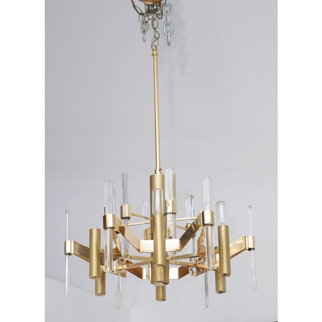 Modern Gaetano Sciolari Chandelier For Sale - Image 3 of 3