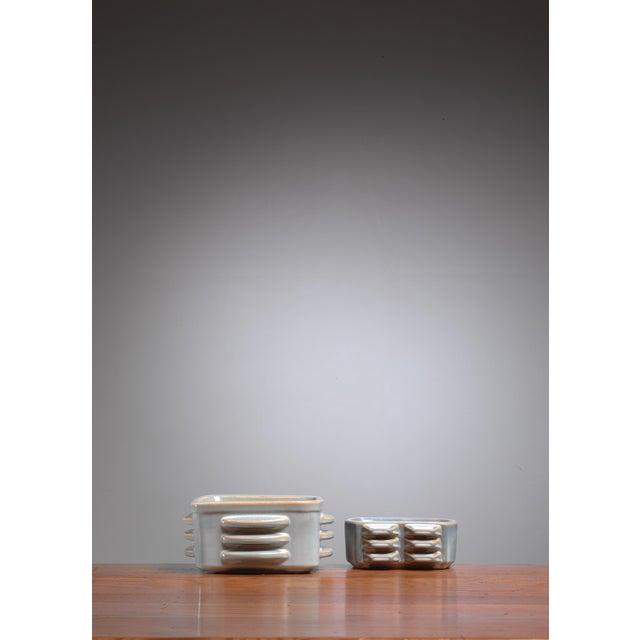 Mid-Century Modern Pair of ceramic bowls by Einar Johansen for Soholm, Denmark, 1960s For Sale - Image 3 of 4