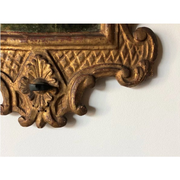Baroque Venetian Baroque Gilt and Mirrored Sconce For Sale - Image 3 of 6