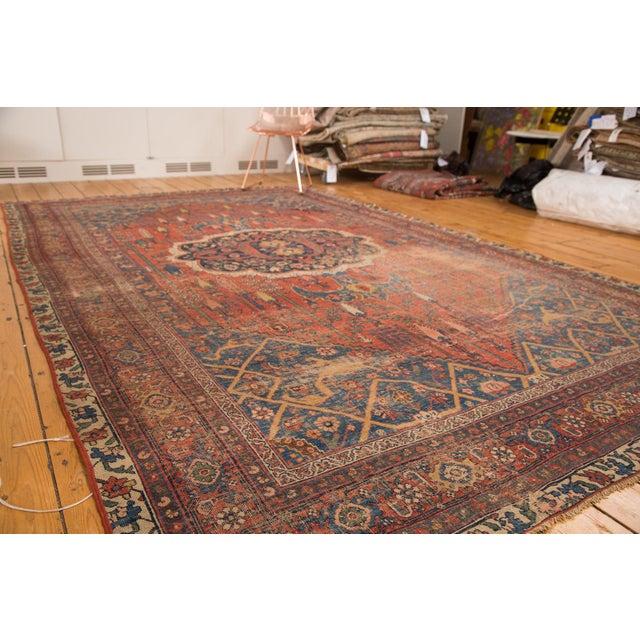 "Antique Bijar Carpet - 7'6"" X 11'10"" - Image 6 of 7"