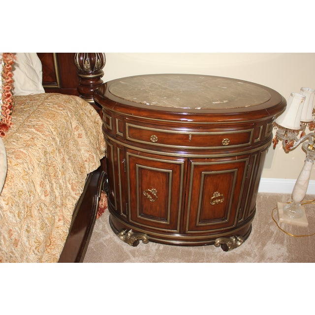 Marge Carson Night Chests - Pair - Image 6 of 7