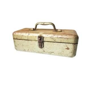 "Vintage Mid-Century ""My Buddy"" Metal Tool Box For Sale"
