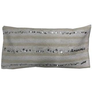 Handira Moroccan Wedding Blanket Lumbar Pillow Cover For Sale
