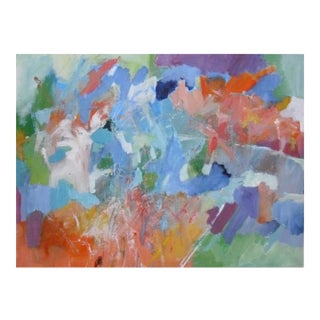 """Nicki Beiderman """"Outward Expression"""" Abstract Painting"""