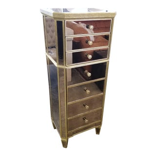 Borghese Style Lingerie Tall Chest of Drawers For Sale