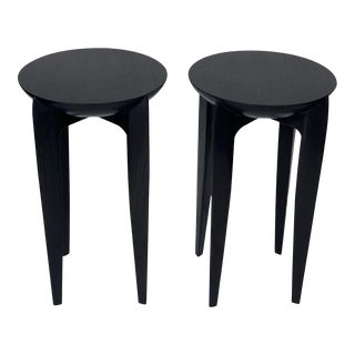 Christian Liaigre Style Side Tables - a Pair For Sale