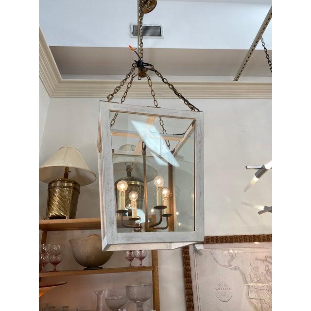 Julian Chichester Julian Chichester Triangle Lantern For Sale - Image 4 of 6