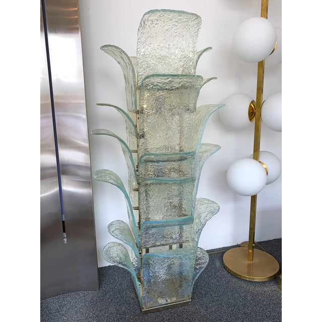 Floor Lamp Cactus Lt 320 by Carlo Nason for Mazzega Murano, 1970s For Sale - Image 10 of 10
