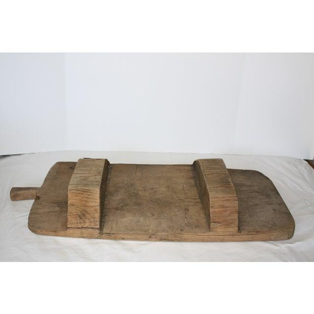 Vintage Footed European Breadboard - Image 3 of 6