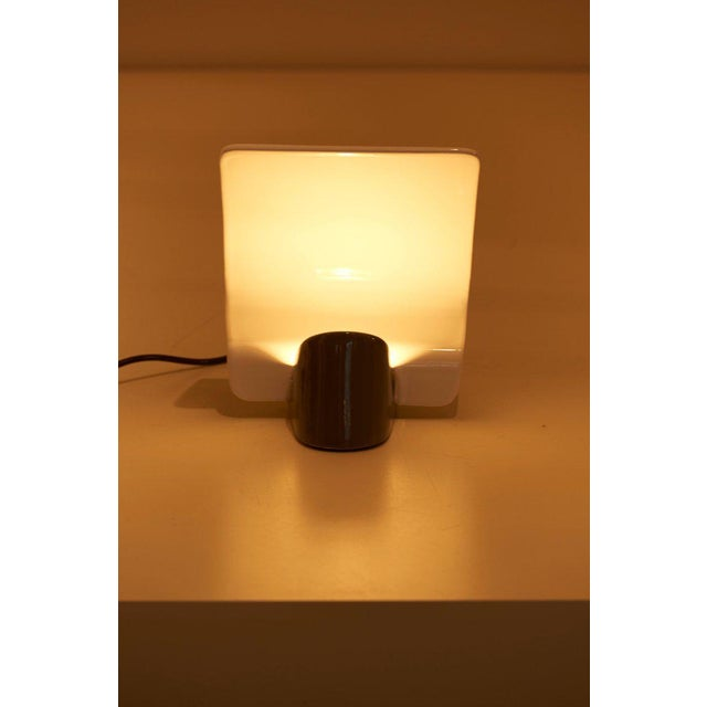 "Ceramic Ceramic Table Lamp ""Maia"" by Arturo Silva for Antonangeli, Italy For Sale - Image 7 of 10"