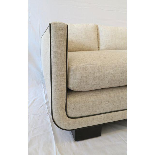 The Harrison Sofa was designed after lead designer, Jason Martin, discovered what he deemed a perfect sofa, at a...