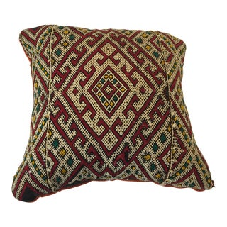 Moroccan Berber Tribal Throw Pillow For Sale