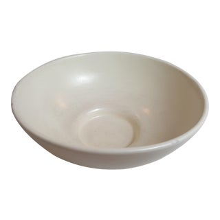 Haeger Usa Simplistic Cream Colored Bowl For Sale