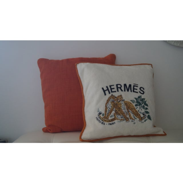 Art Deco Hermes Cushion Covers - Set of 3 For Sale - Image 3 of 7