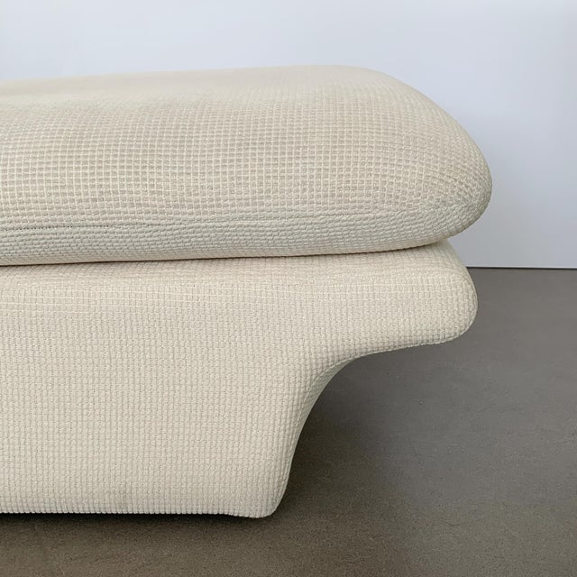 Modernist Fully Upholstered Chaise Lounge by Preview For Sale - Image 12 of 13