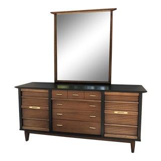Vintage Mid Century Modern Dixie Dresser For Sale