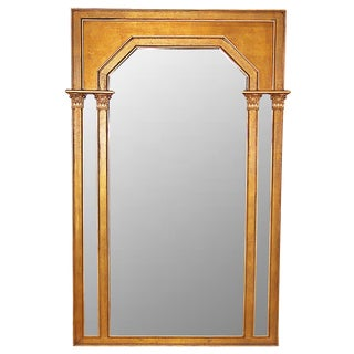 Mid-Century Neo-Classical Mirror For Sale