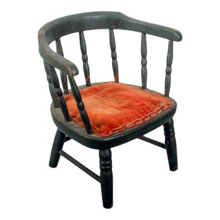 Children's Low Back Windsor Chair For Sale