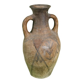 Berber Tattoo Water Jug For Sale