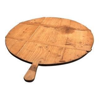 Antique French Charcuterie Bread Cheese Board For Sale