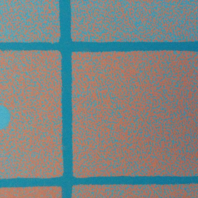 1970s 1973 Op-Art Silkscreen Signed Bay Area Artist For Sale - Image 5 of 10