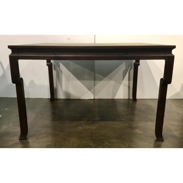 Wondrous Asian Modern Style Hickory Chair Ceylon Game Table Machost Co Dining Chair Design Ideas Machostcouk
