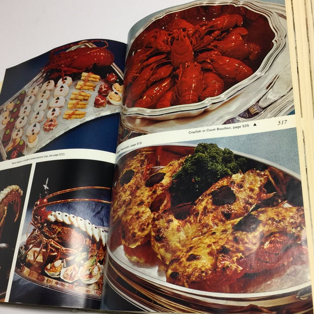 1966 Vintage Modern French Culinary Art Cook Book For Sale - Image 9 of 13