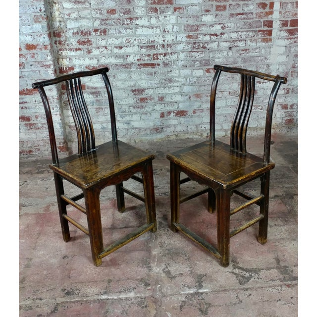 1900's Antique Chinese Chairs- A Pair For Sale - Image 9 ... - 1900's Antique Chinese Chairs- A Pair Chairish