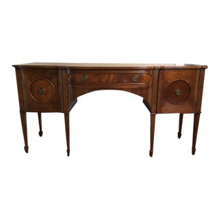 1900s Traditional Kittinger-Style Mahogany Side Board