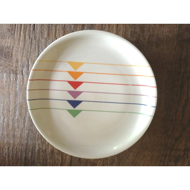 Mid-Century Modern Harmony Block Vista Alegre Plates - Set of 13 For Sale - Image 3 of 9