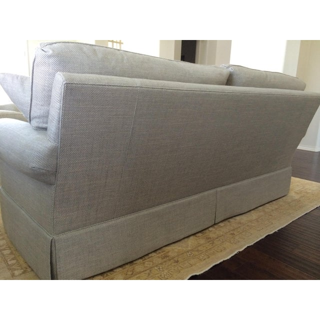Baker Furniture Custom Sofa With Bill Sofield Fabric - Image 6 of 8