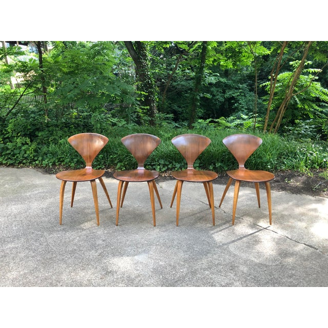 Norman Cherner for Plycraft Chairs - Set of 4 For Sale - Image 13 of 13