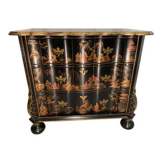 Wright Table Company Chinoiserie Bachelor's Chest For Sale