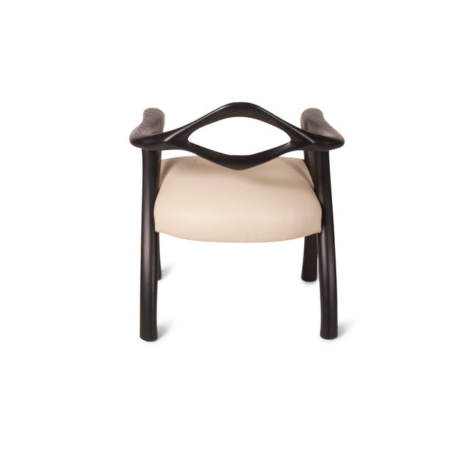 Black Amorph Darcey Dining Chair in Ebony Stain For Sale - Image 8 of 10
