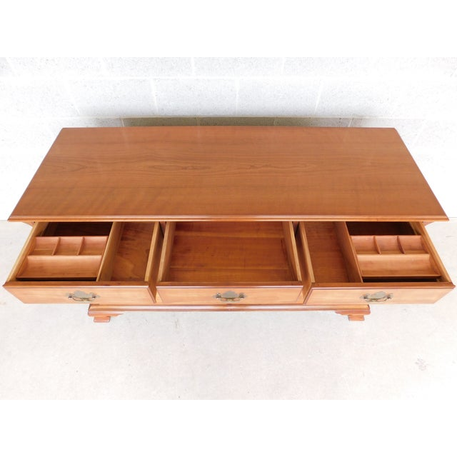 """Kindel Chippendale Style 9 Drawer Dresser 62""""w For Sale - Image 10 of 13"""