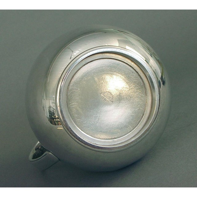 1920s 1920s Art Deco Silver Plate Water Pitcher by the International Silver Co, of Meriden Ct For Sale - Image 5 of 7