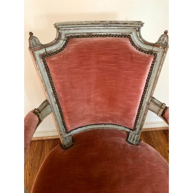 Early 19th Century 1900 French Louis XVI Chair For Sale - Image 5 of 8