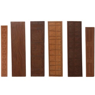 Six Evelyn Ackerman Wall Panels by Panelcarve For Sale