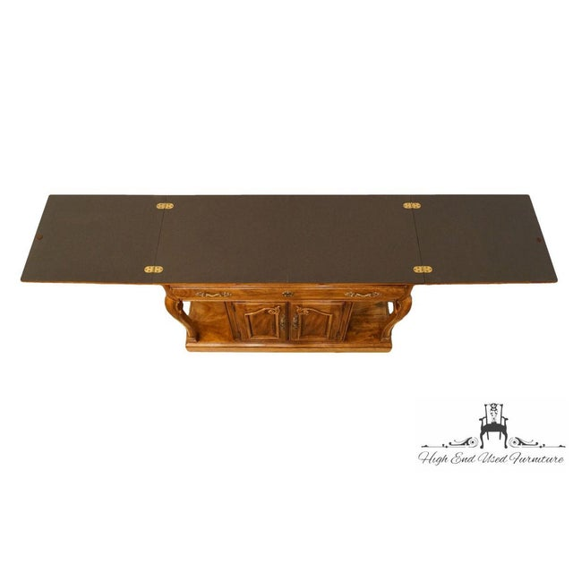 "Thomasville Thomasville Furniture Place Vendome Collection 45"" Flip-Top Server Buffet For Sale - Image 4 of 13"