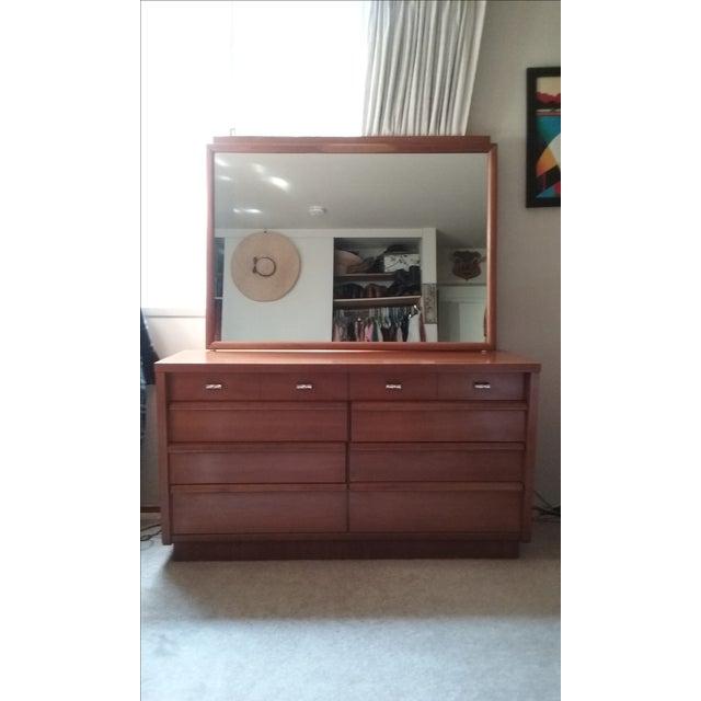 Cavalier Mid-Century Modern Dresser W/ Mirror - Image 2 of 10