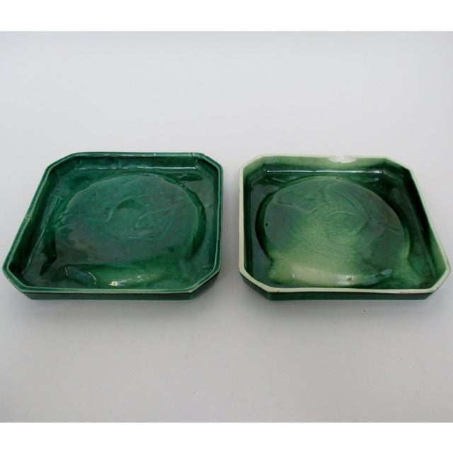 Vintage Ceramic Ashtrays, Set of 2 For Sale In Los Angeles - Image 6 of 8